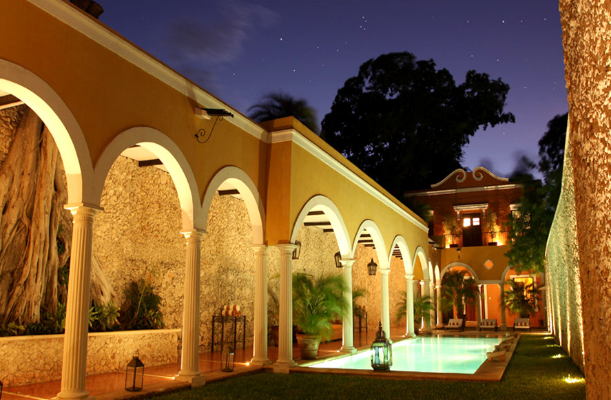 Hacienda Santa Cruz en Yucatán